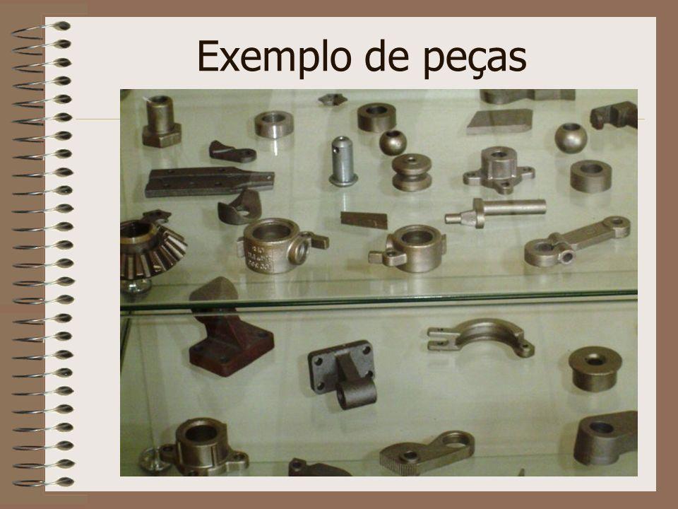 Exemplo de peças
