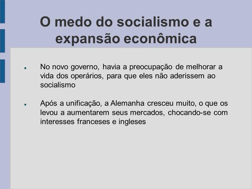 O medo do socialismo e a expansão econômica