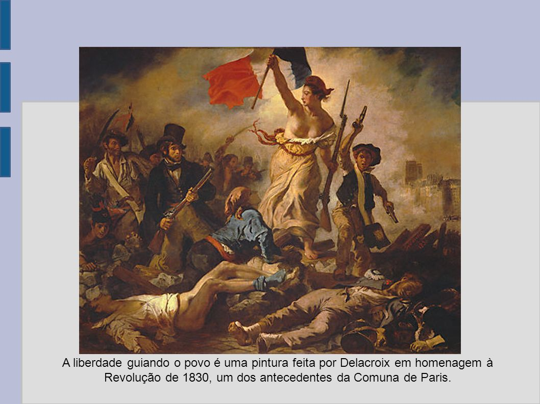 Revolução de 1830, um dos antecedentes da Comuna de Paris.