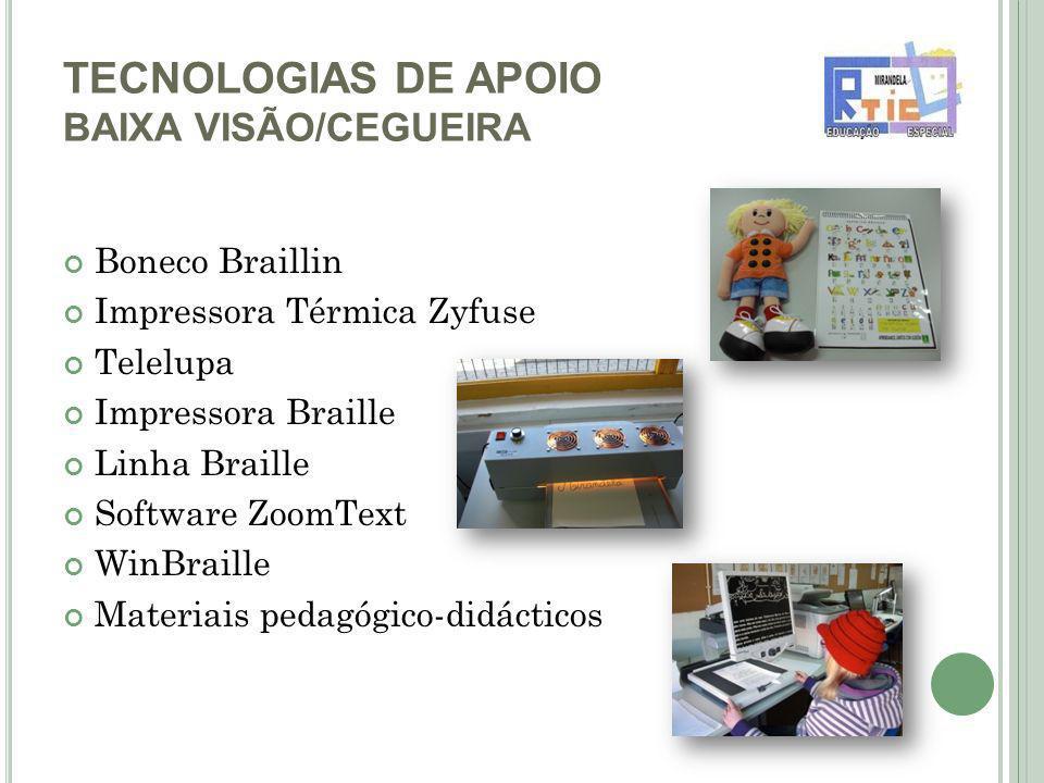 TECNOLOGIAS DE APOIO BAIXA VISÃO/CEGUEIRA