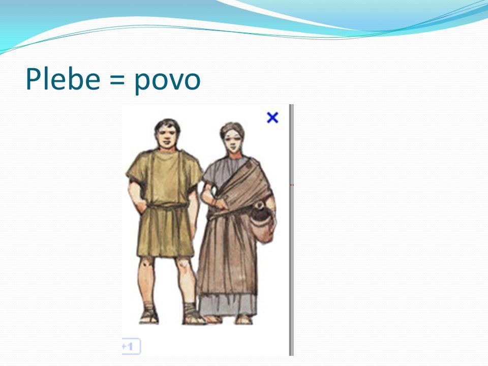 Plebe = povo