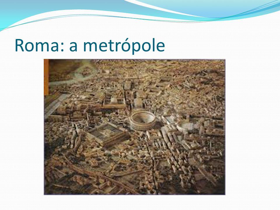 Roma: a metrópole