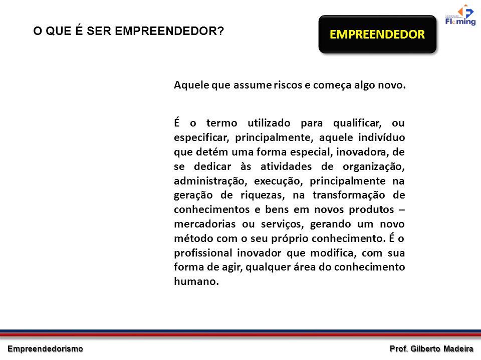 EMPREENDEDOR O QUE É SER EMPREENDEDOR Entrepreneur
