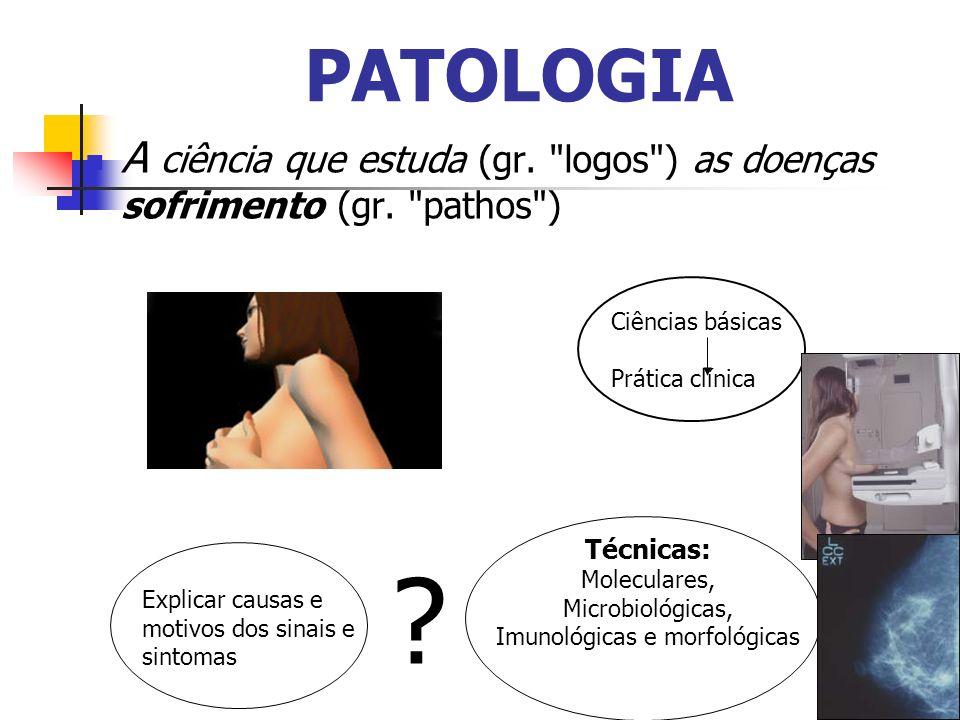 Imunológicas e morfológicas