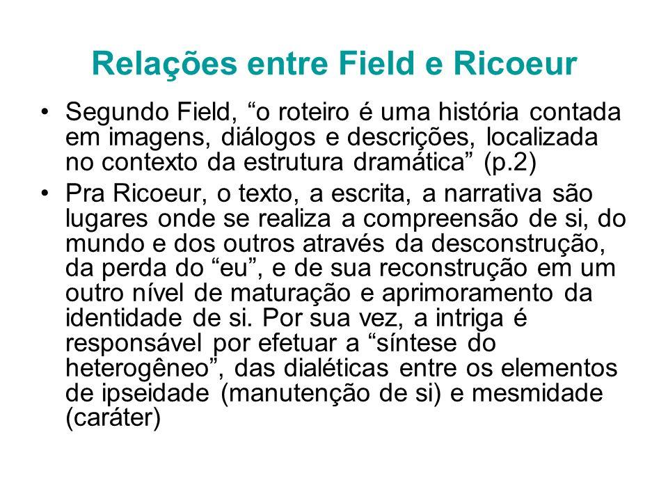 Relações entre Field e Ricoeur
