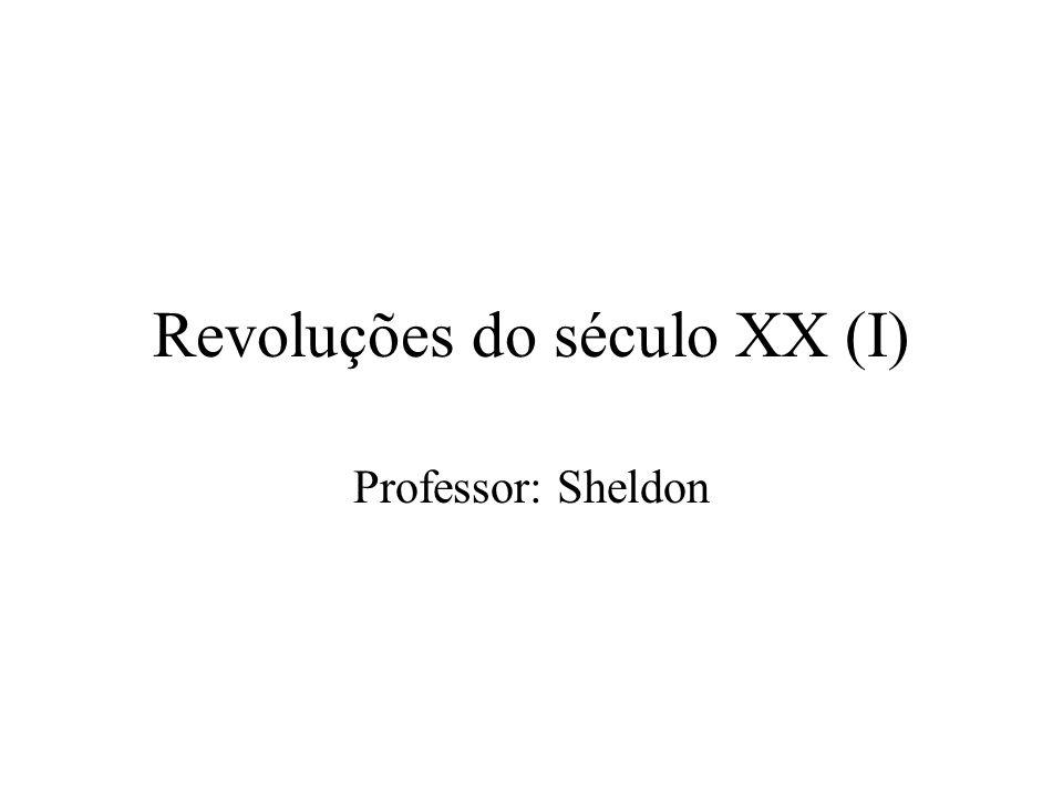 Revoluções do século XX (I)