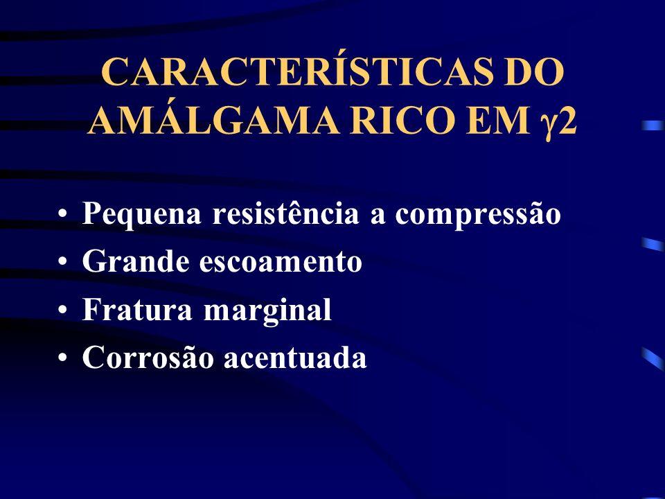 CARACTERÍSTICAS DO AMÁLGAMA RICO EM 2