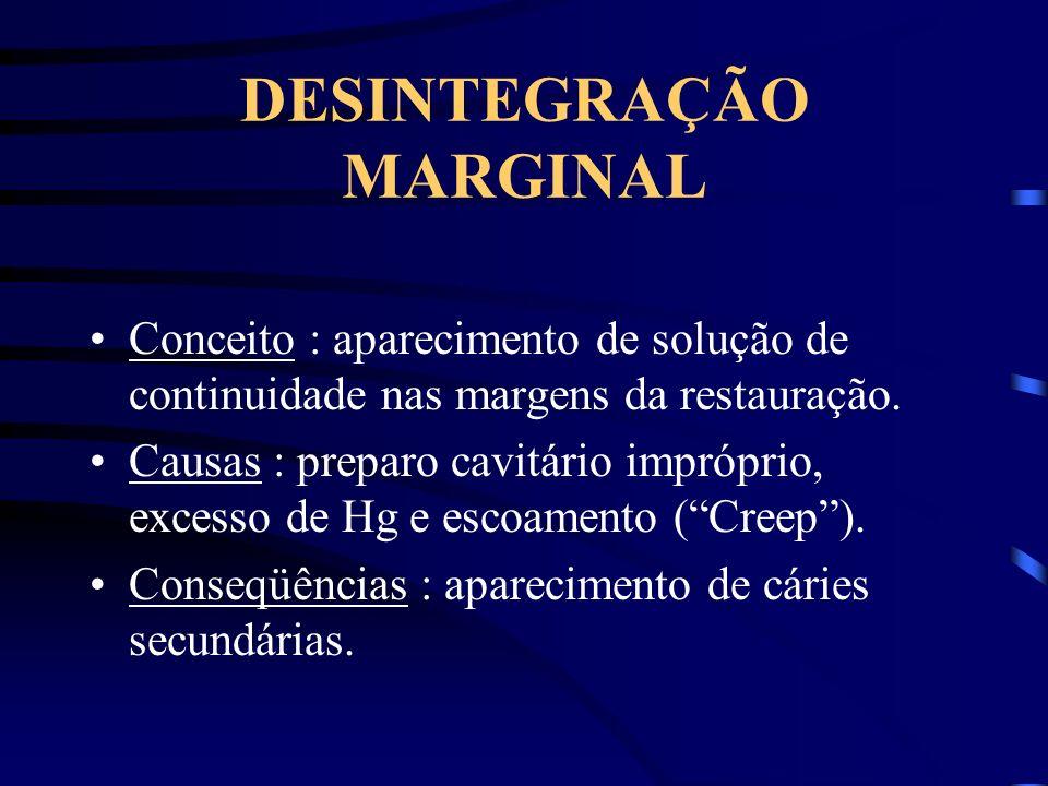 DESINTEGRAÇÃO MARGINAL