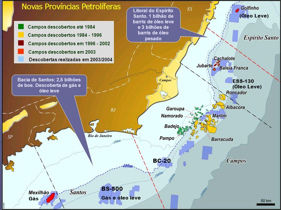 Novas Províncias Petrolíferas