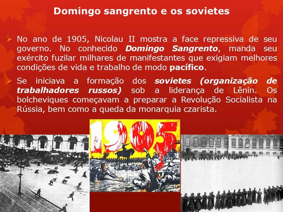 Domingo sangrento e os sovietes