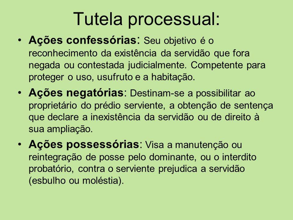 Tutela processual: