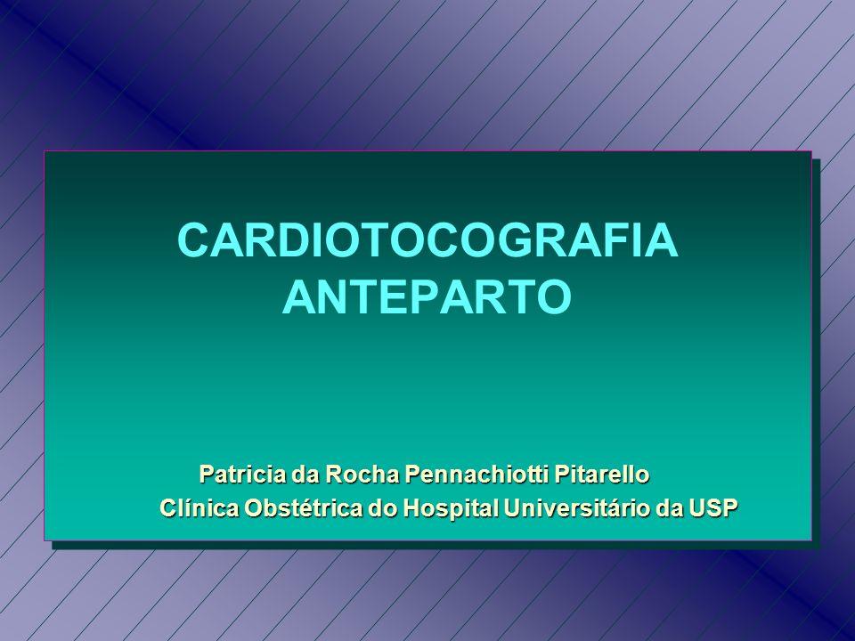 CARDIOTOCOGRAFIA ANTEPARTO