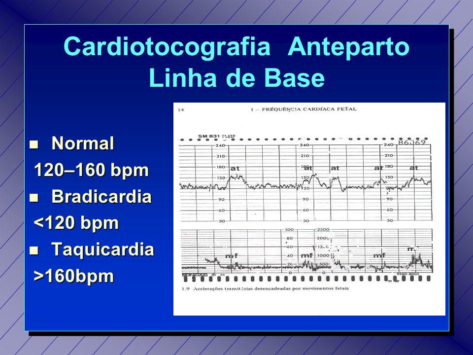 Cardiotocografia Anteparto Linha de Base
