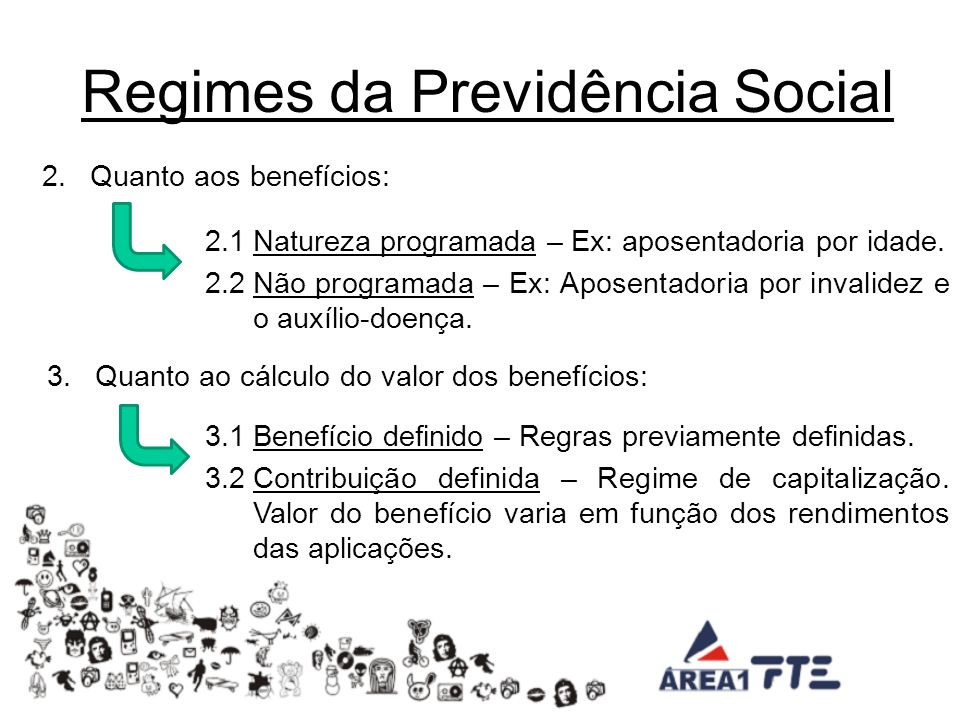 Regimes da Previdência Social