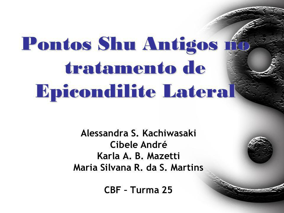 Pontos Shu Antigos no tratamento de Epicondilite Lateral