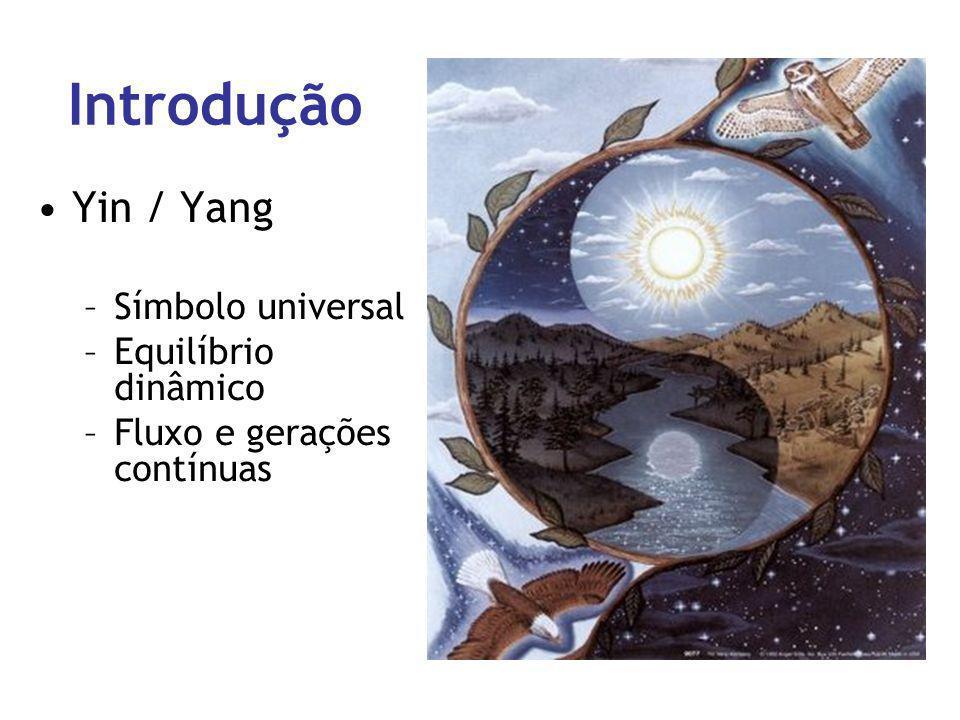 Introdução Yin / Yang Símbolo universal Equilíbrio dinâmico