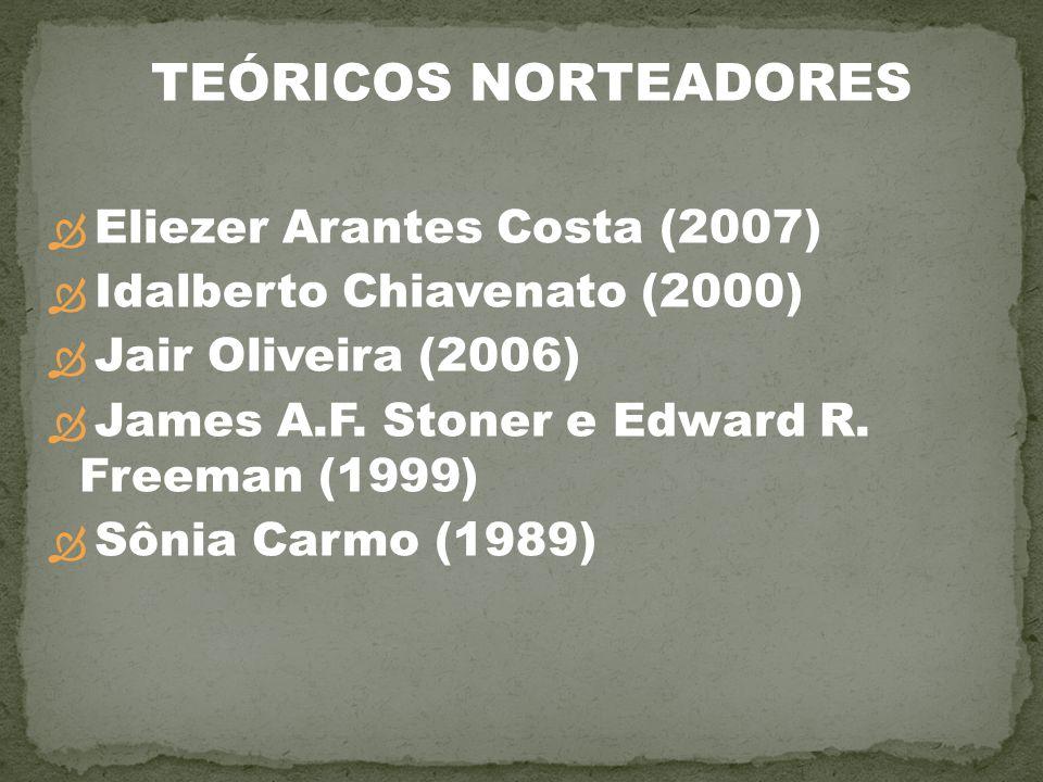 TEÓRICOS NORTEADORES Eliezer Arantes Costa (2007)