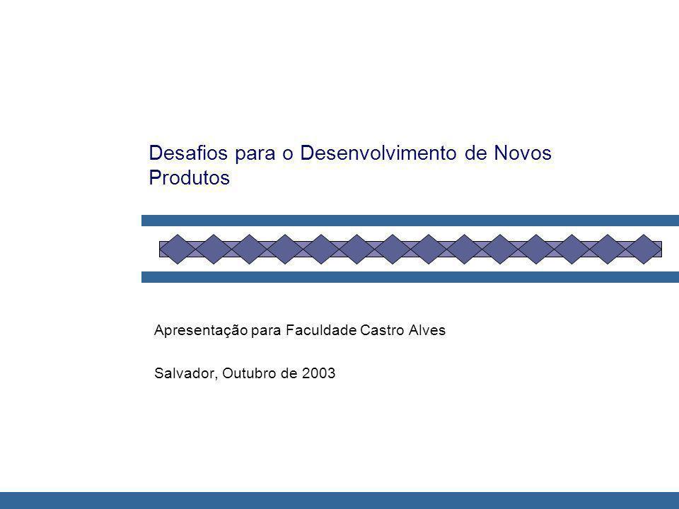 Desafios para o Desenvolvimento de Novos Produtos