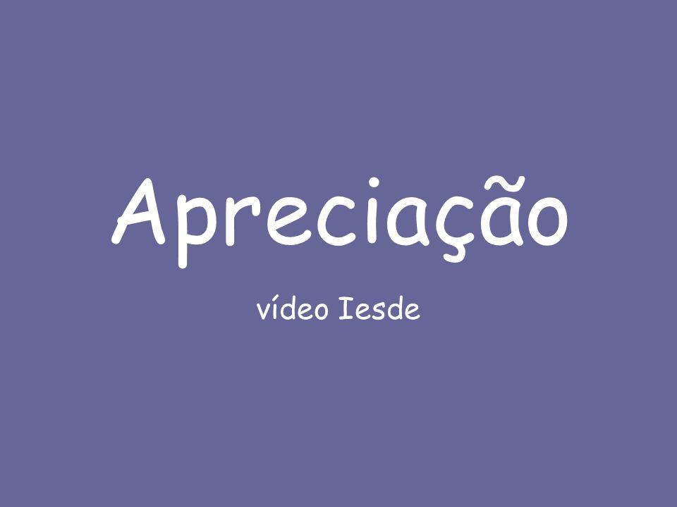 Apreciação vídeo Iesde