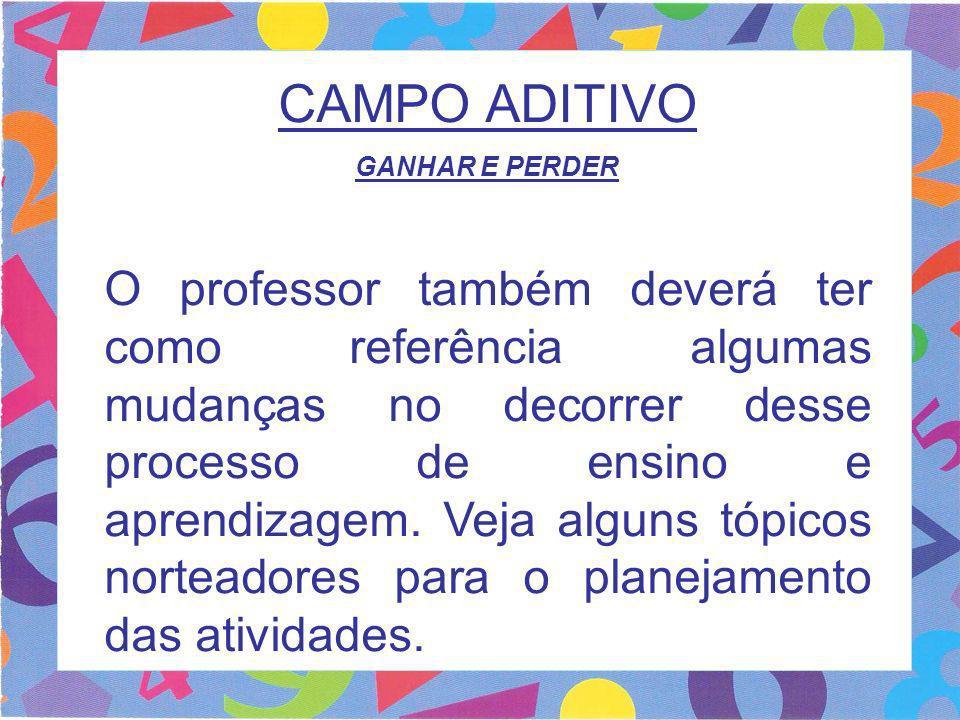 CAMPO ADITIVO GANHAR E PERDER.