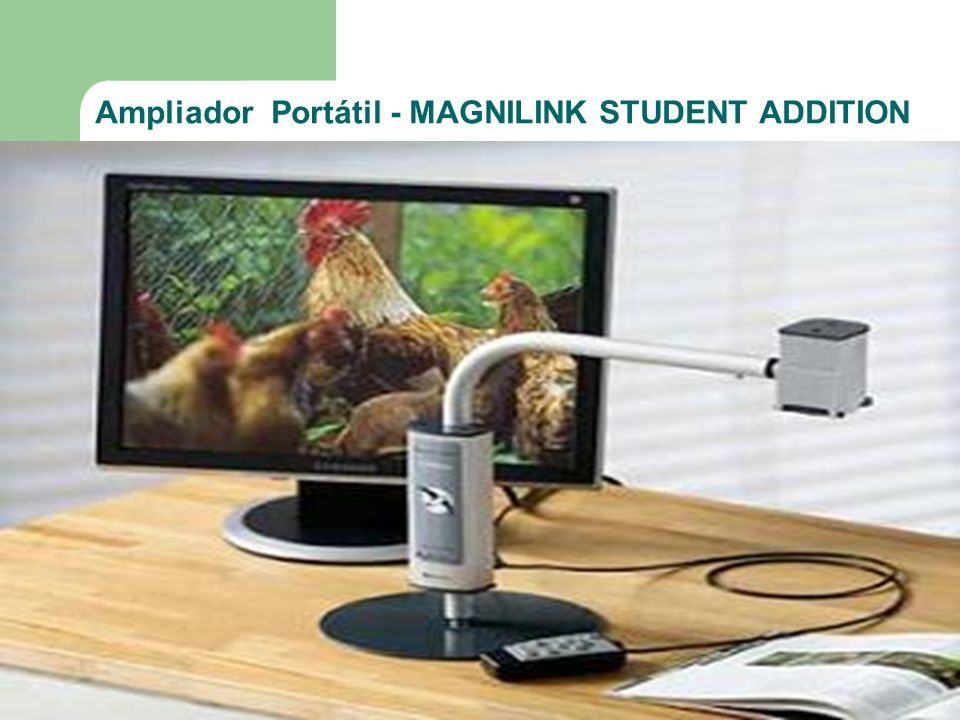 Ampliador Portátil - MAGNILINK STUDENT ADDITION
