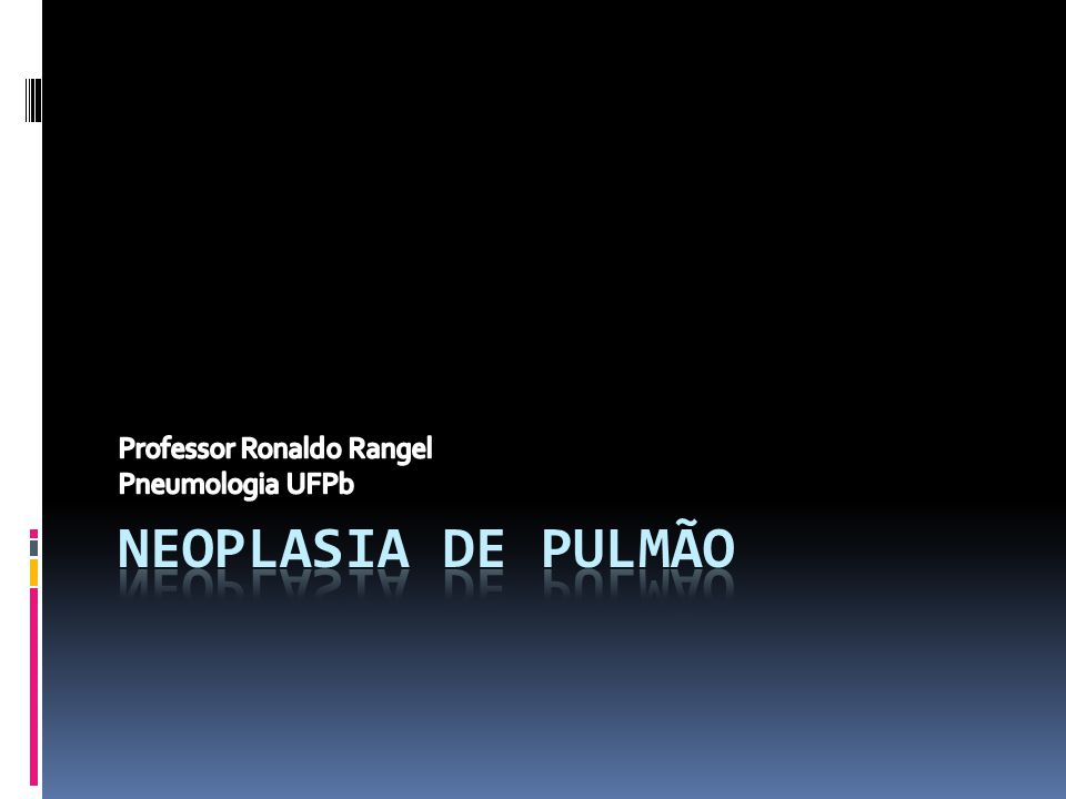 Professor Ronaldo Rangel Pneumologia UFPb
