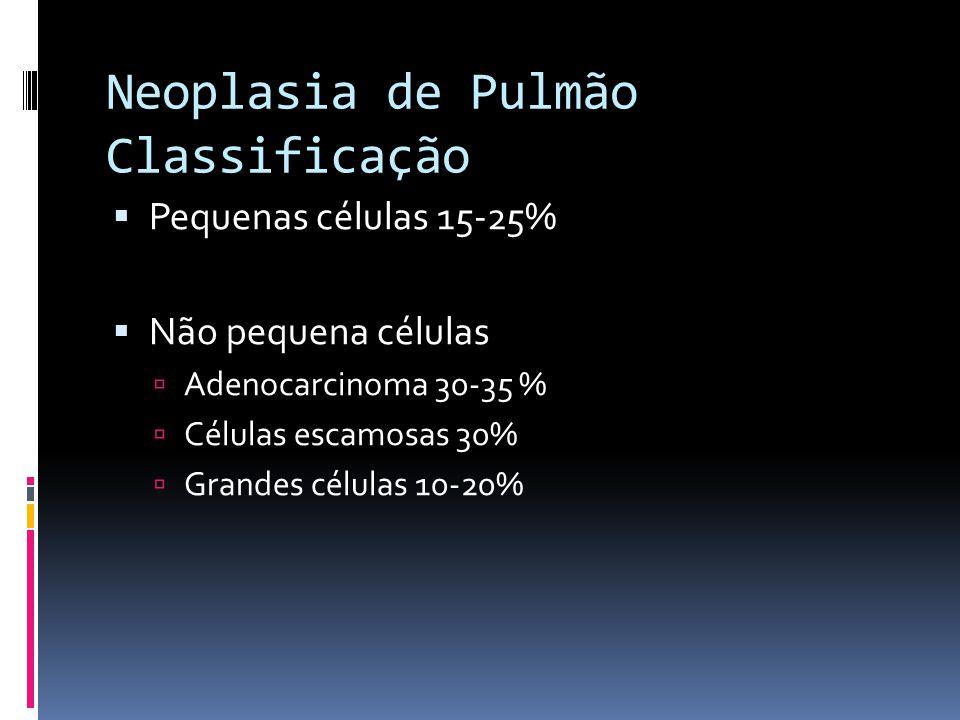 Neoplasia de Pulmão Classificação