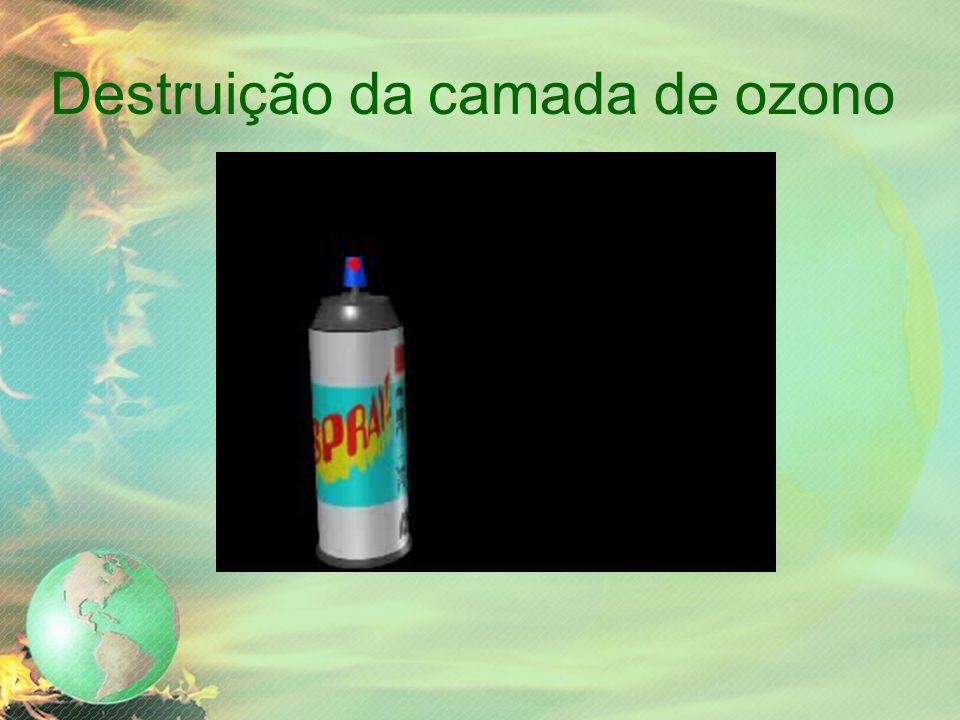 Destruição da camada de ozono