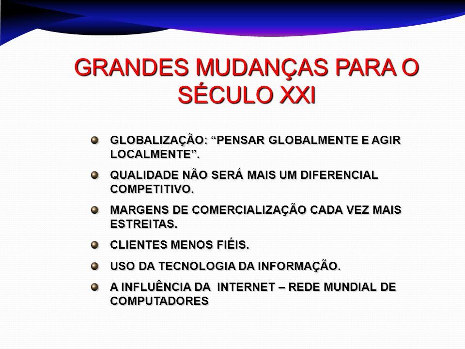 GRANDES MUDANÇAS PARA O SÉCULO XXI