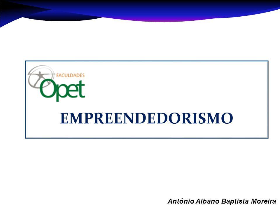 EMPREENDEDORISMO Aula 1 – António Albano Baptista Moreira