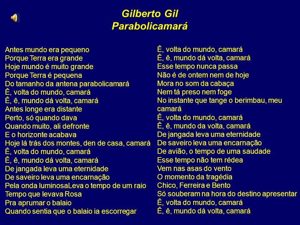 Gilberto Gil Parabolicamará