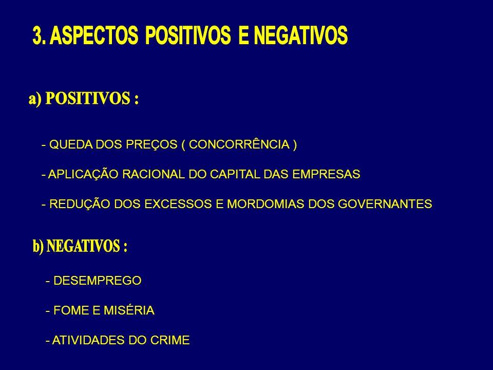 3. ASPECTOS POSITIVOS E NEGATIVOS