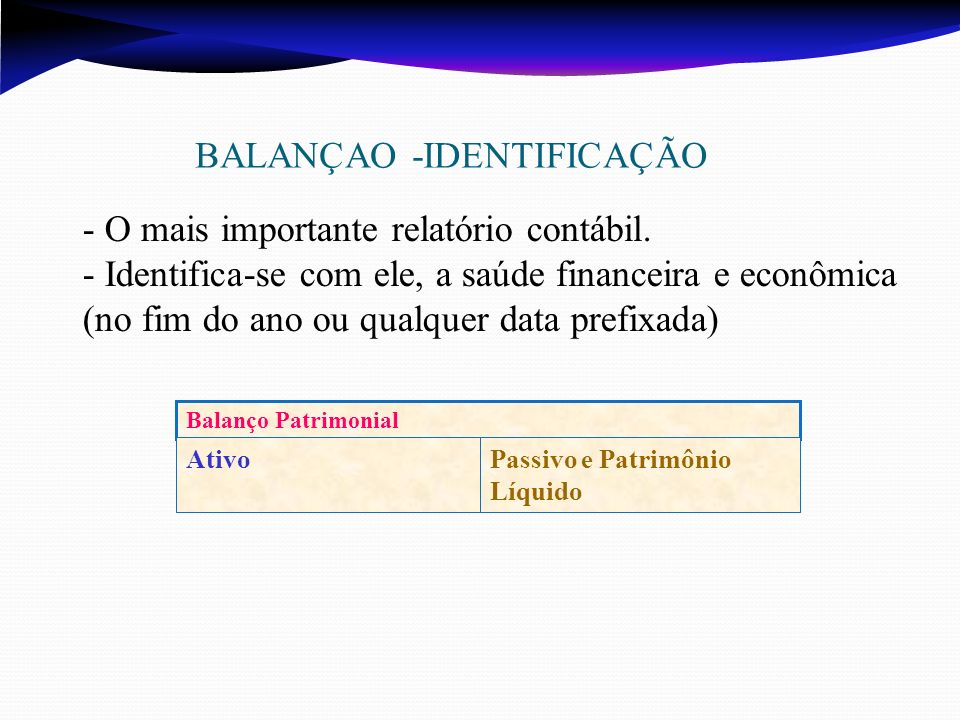 BALANÇAO -IDENTIFICAÇÃO