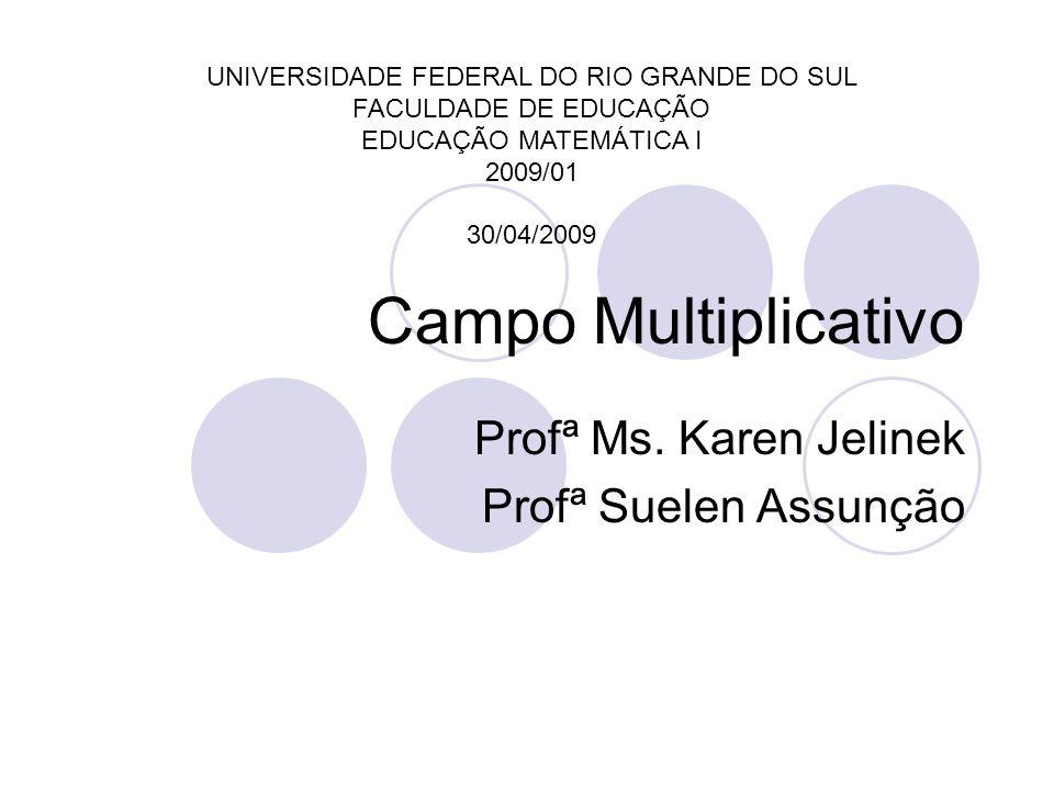 Profª Ms. Karen Jelinek Profª Suelen Assunção