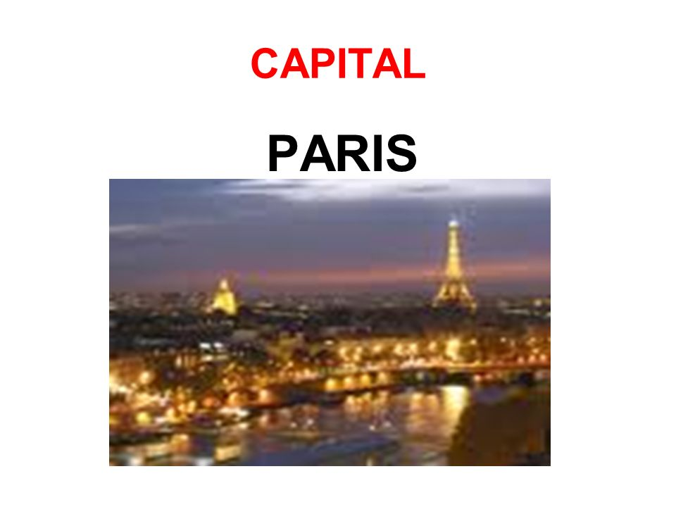 CAPITAL PARIS