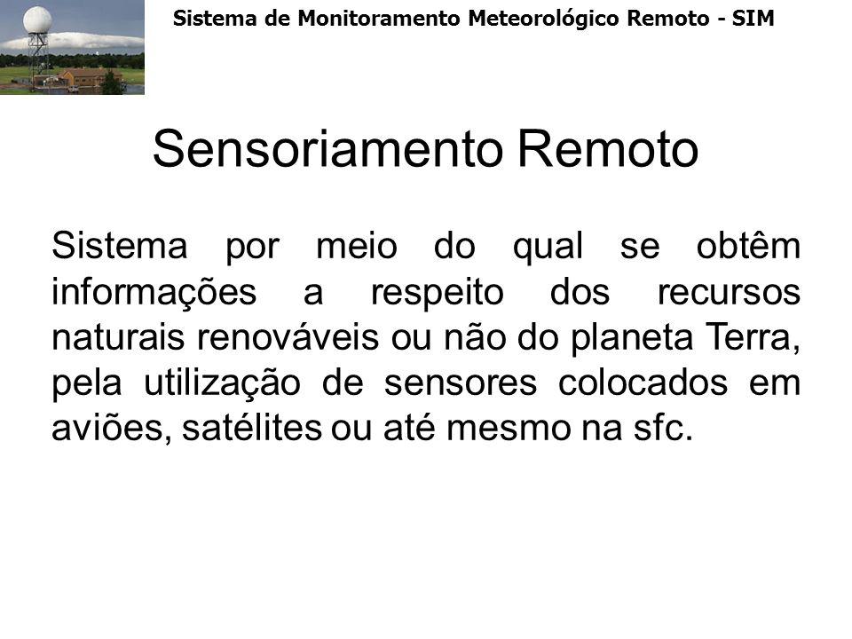 Sistema de Monitoramento Meteorológico Remoto - SIM