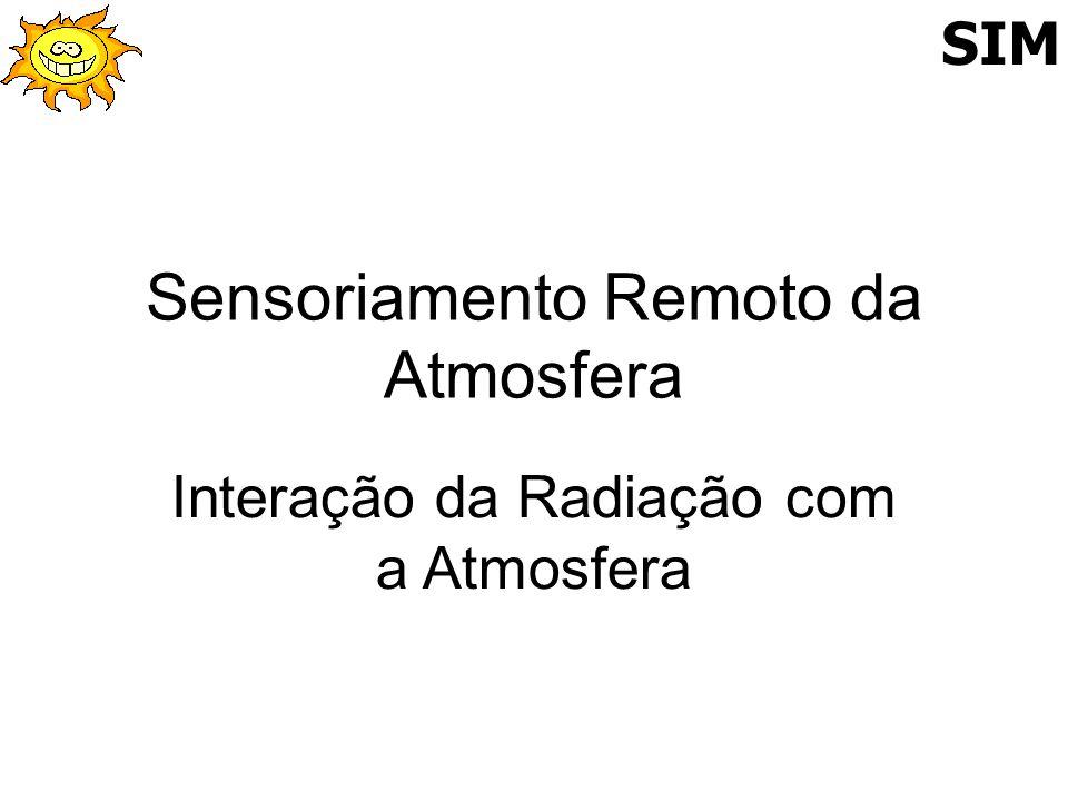 Sensoriamento Remoto da Atmosfera