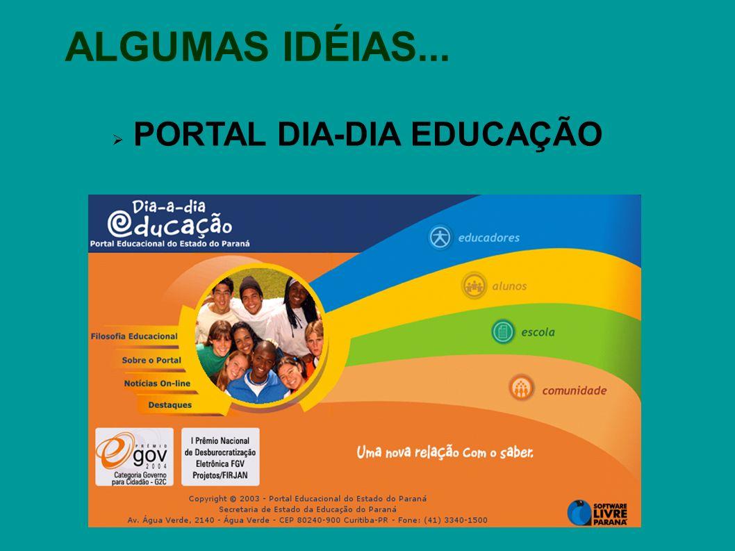 PORTAL DIA-DIA EDUCAÇÃO