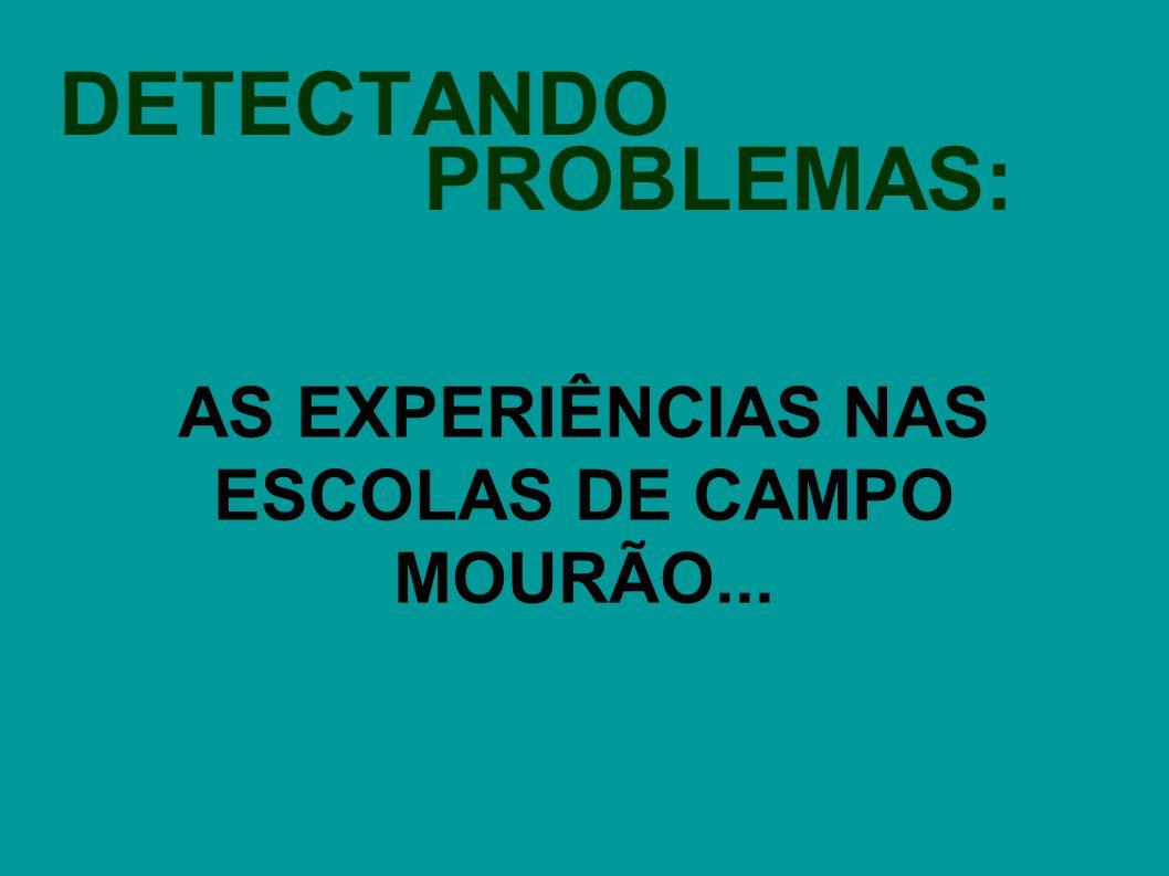 DETECTANDO PROBLEMAS: