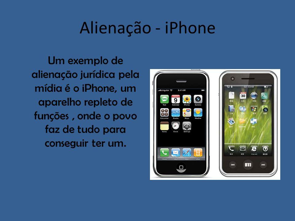 Alienação - iPhone