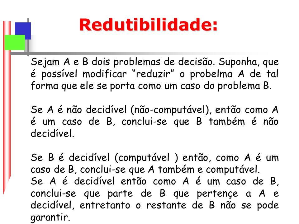 Redutibilidade: