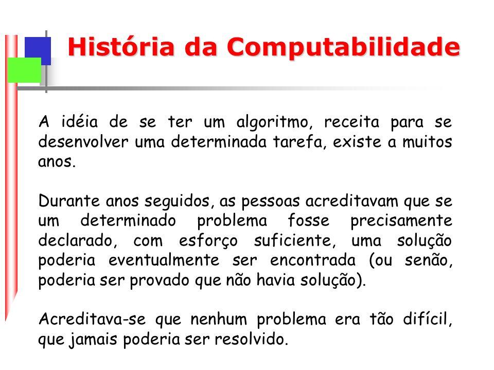 História da Computabilidade
