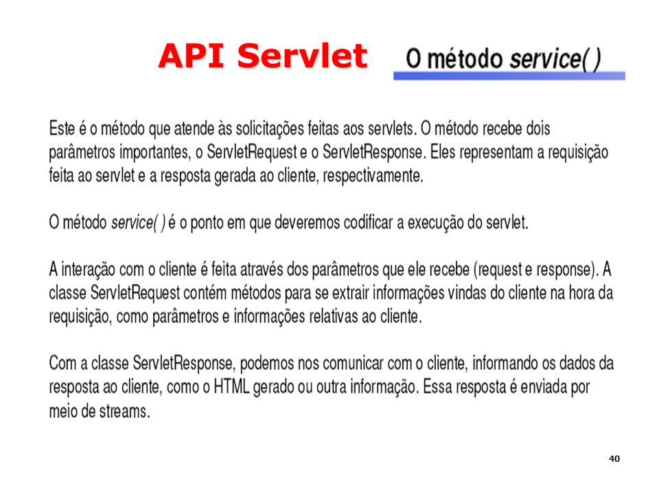 API Servlet