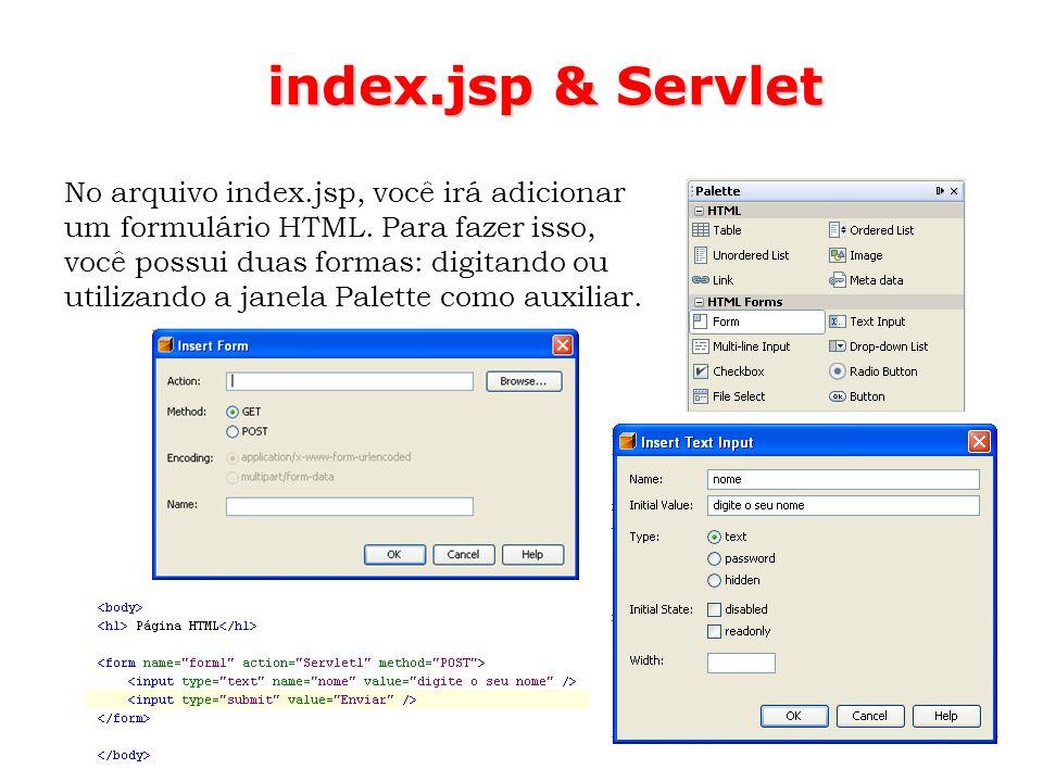 index.jsp & Servlet
