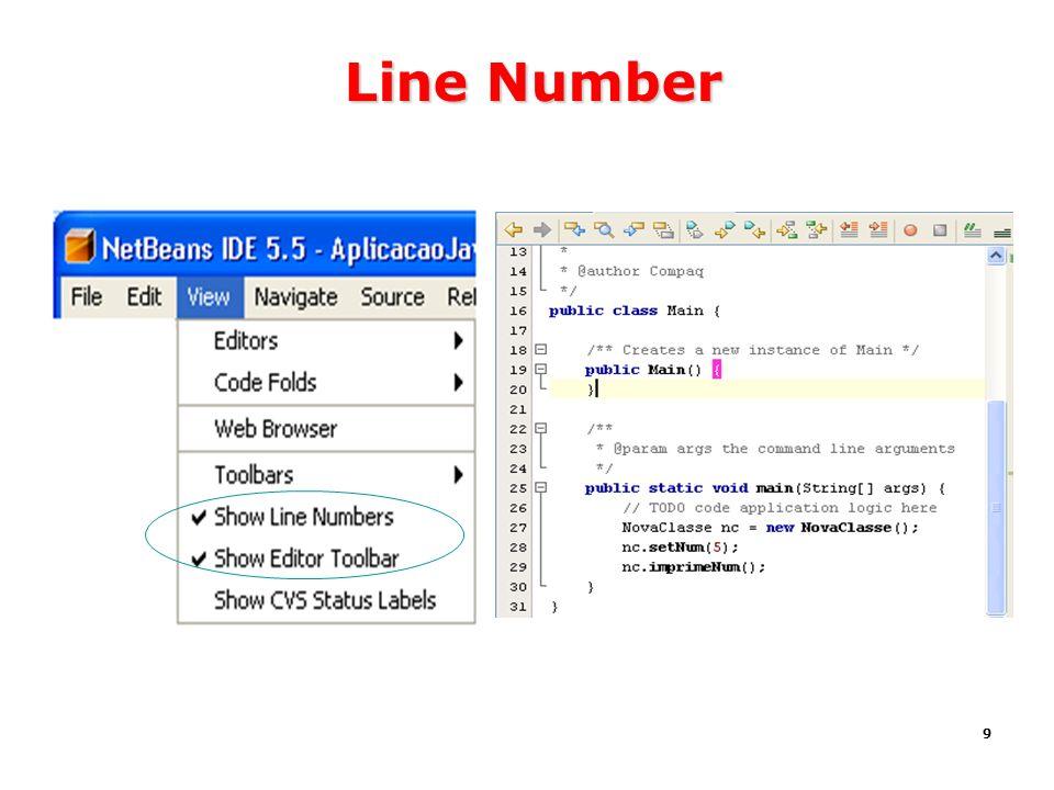 Line Number