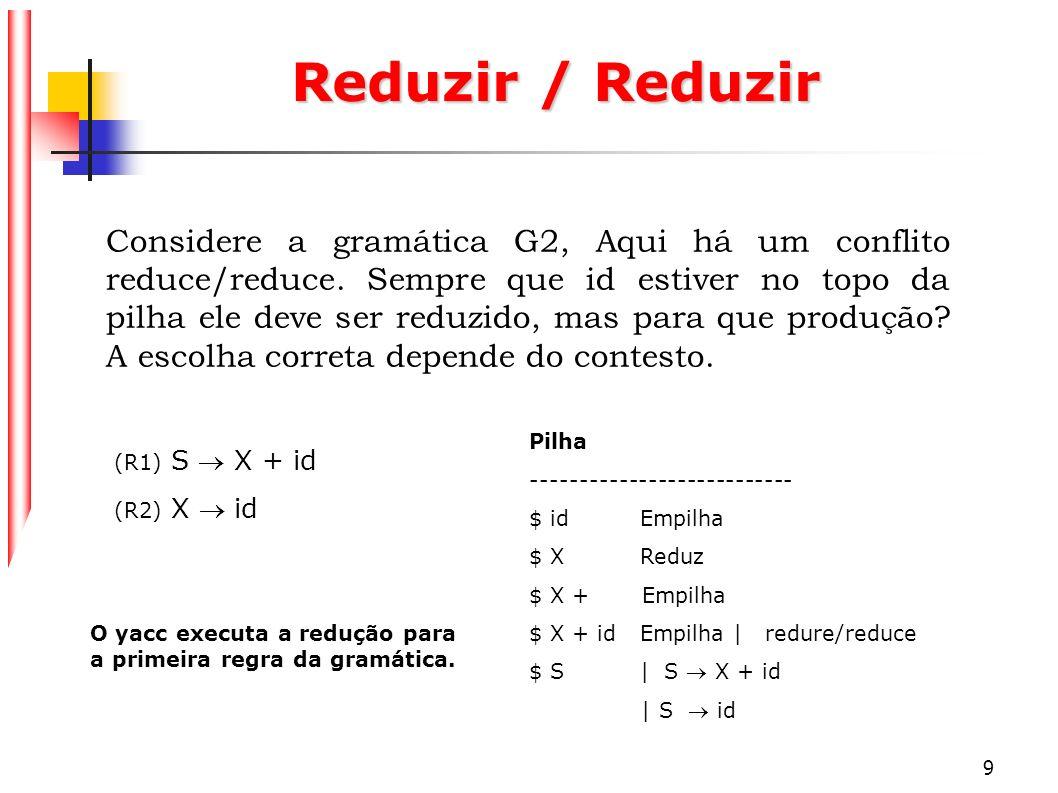 Reduzir / Reduzir