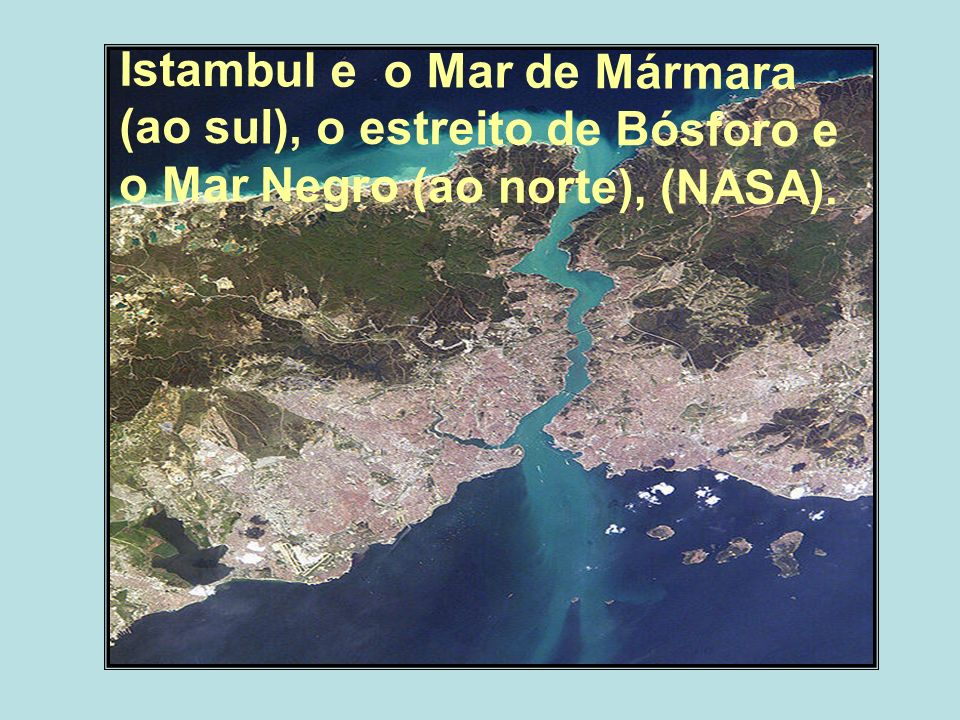 Istambul e o Mar de Mármara