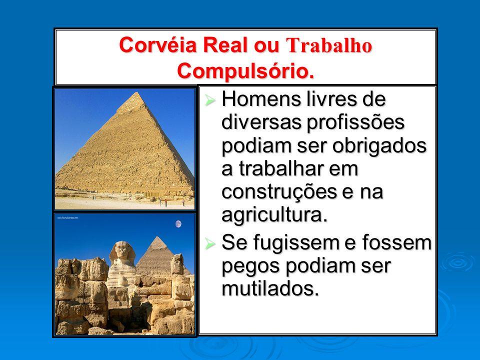Corvéia Real ou Trabalho Compulsório.