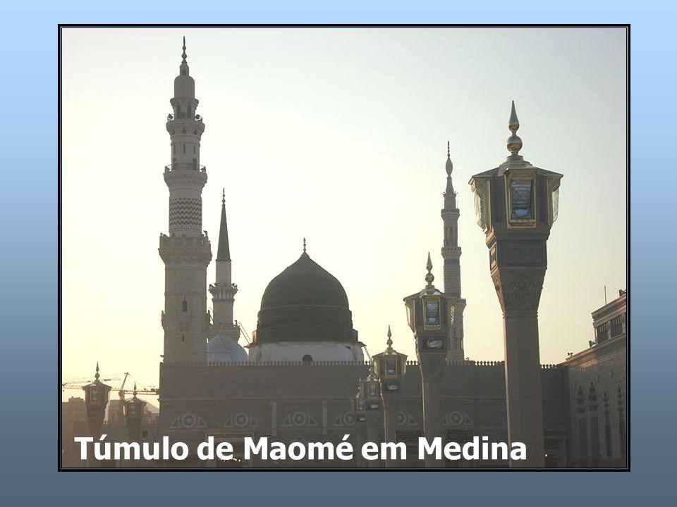 Túmulo de Maomé em Medina
