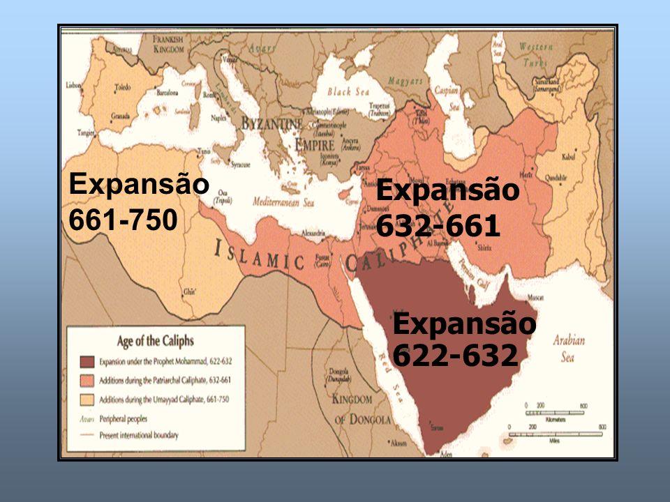 Expansão 661-750 Expansão 632-661 Expansão 622-632